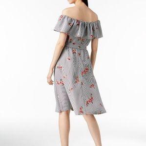 34ed3ef6168f Calvin Klein Dresses - NWT Calvin Klein Off the Shoulder Flounce Dress